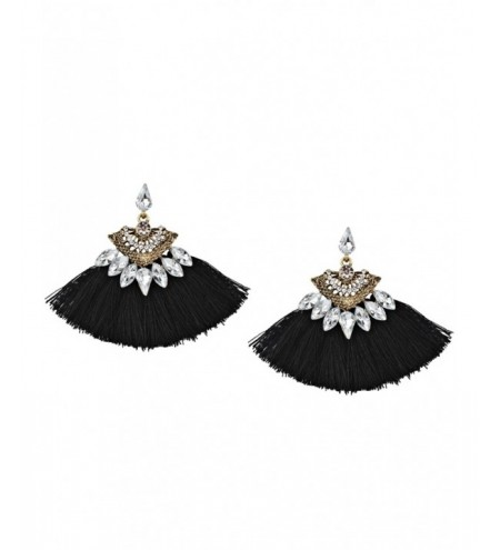 Bohemia Style Alloy Geometric Tassel Earrings