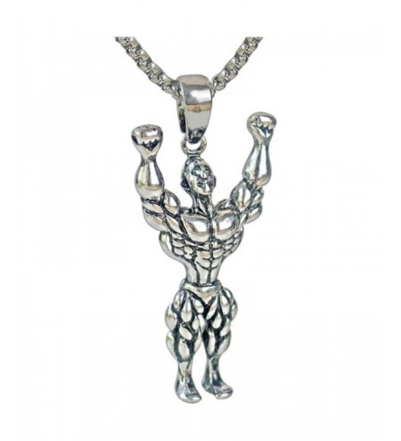 Street Trendy Society Men Fitness Hanging Necklace