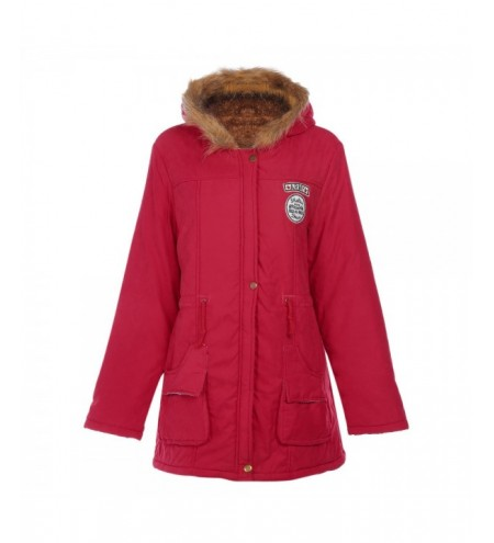 Trendy Hooded Long Sleeve Zipper Woolen Women Coat