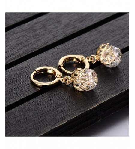 Simple Thriller Shaped Zircon Earrings ER0440