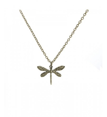 Ladies Creative Dragonfly Shaping Alloy Necklace