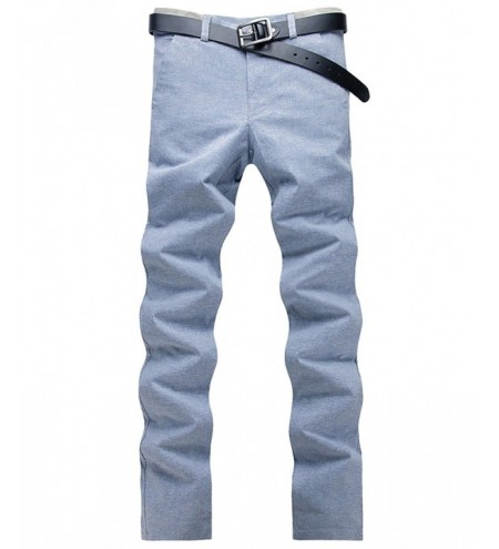 Four Pockets Zipper Fly Casual Pants