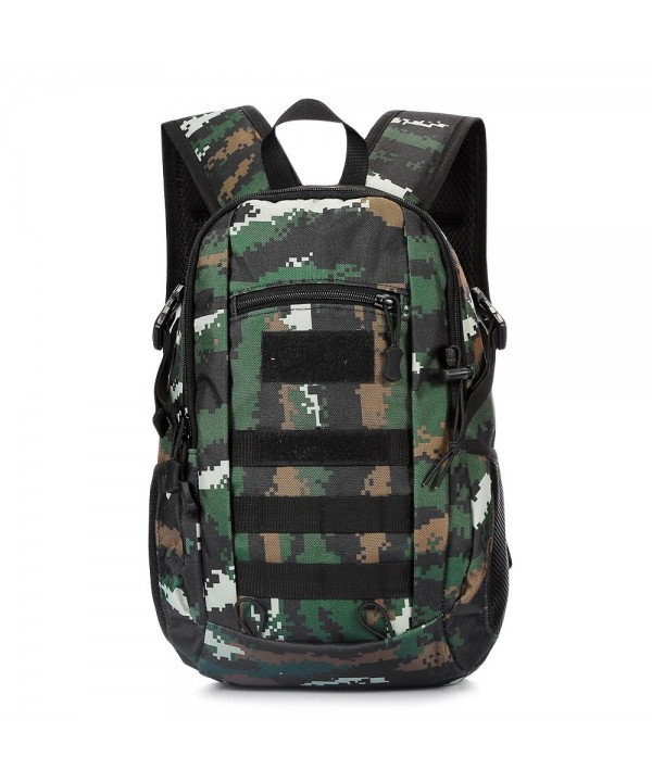 Camouflage Backpack Outdoor Travel Men Women Tactical Army Fan Bag