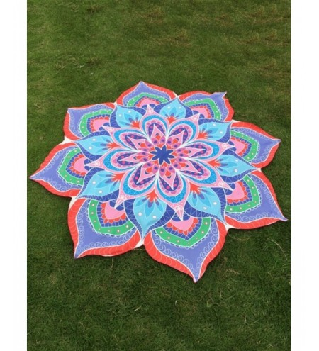 Flower Beach Throw