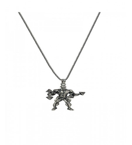 Creative Leisure Men's Fitness Necklace