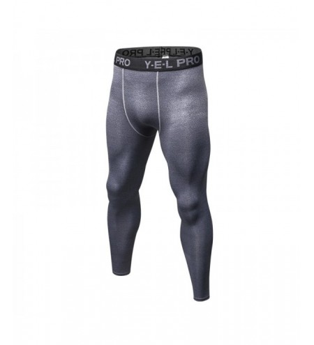 Men Quick Dry Tights Athletic Train Leggings Fitness Gym Sports Running Pants
