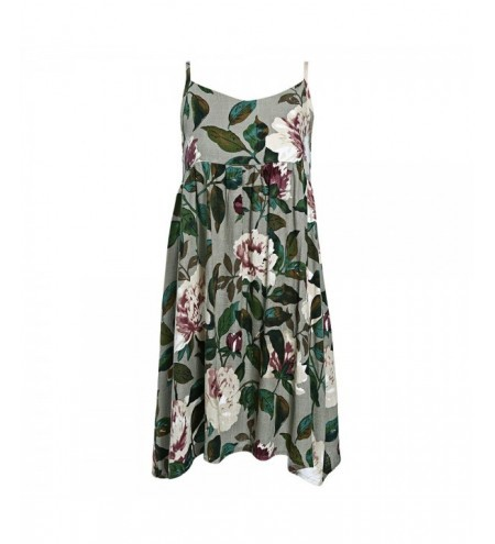 Floral Slip Linen Holiday Dress
