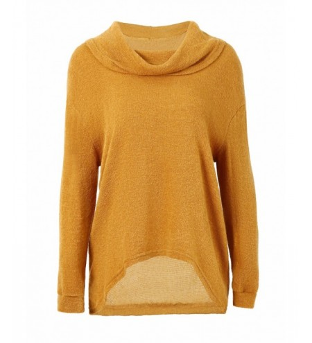 Dropped Shoulder Asymmetrical Sweater