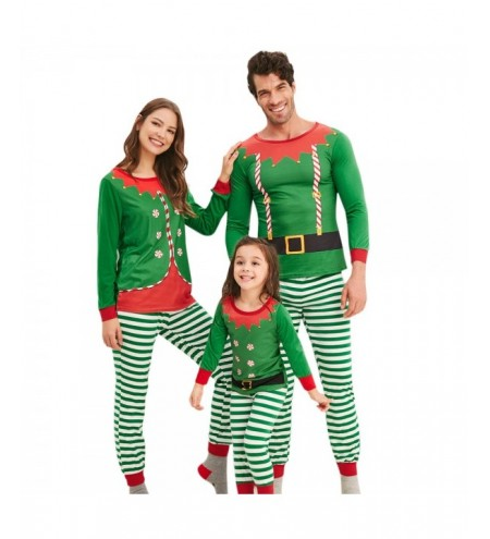 Christmas Elves Matching Family Pajamas