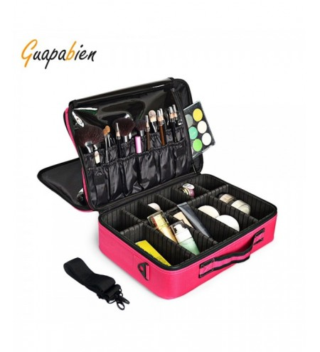 Guapabien Makeup Bag Cosmetic Case Organizer Toiletry Pouch