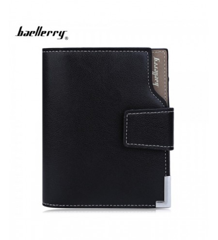 Baellerry Short Vertical Wallet for Men
