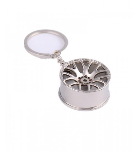 Wheel Hub Metal Car Keychain