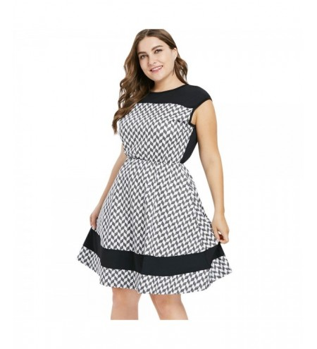 Plus Size Sleeveless Casual Dress