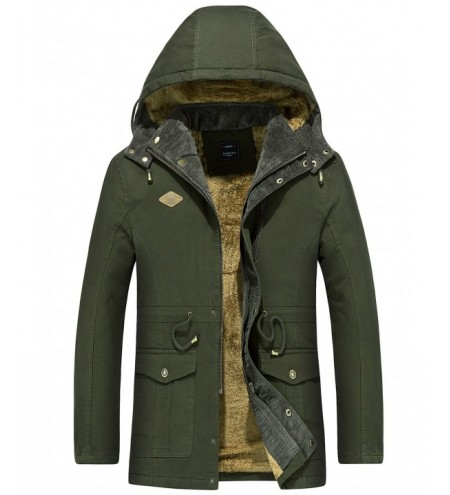 Draw String Waist Detachable Hooded Outdoor Jacket