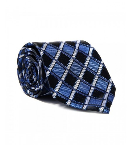 New Fashion Men's Accessories Business Necktie Casual Geometric Plaid All Match Tie