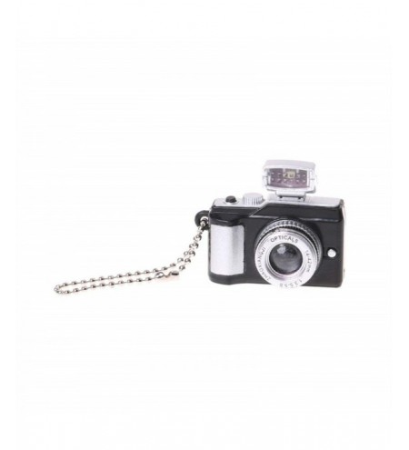 Creative Camera LED Keychains with Sound flashlight Key Ring