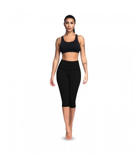 High Waist Skinny Pocket Elastic Yoga Women Cropped Pants