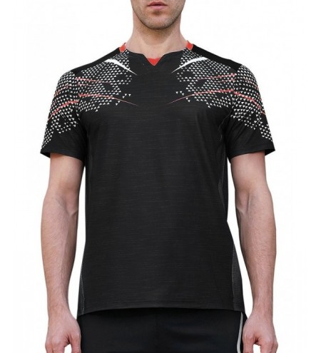 Netty Back Geometric Print Fast Dry Breathable Activewear T-shirt