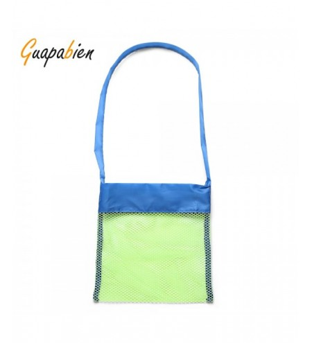 Guapabien Small Mesh Shoulder Bag Beach Toy Basket
