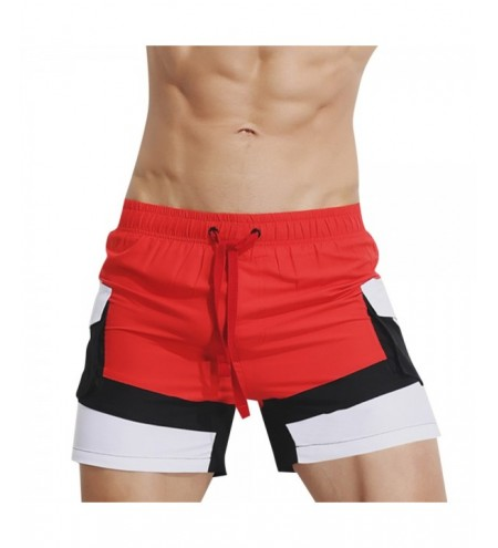 SUPERBODY SUP180817 Loose Sports Shorts Causal Home Pants