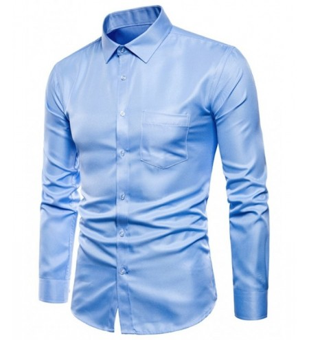 Solid Color Long Sleeves Shirt