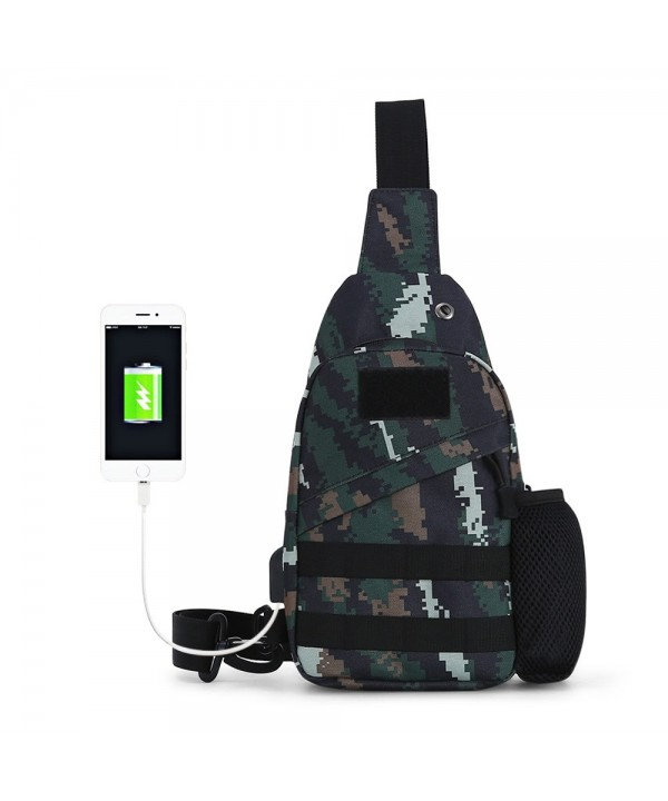 SOLDIERBLADE Multi-function Camouflage Outdoor Oblique Chest Single Shoulder Bag