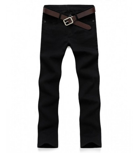 Zip Fly Straight Casual Chino Pants