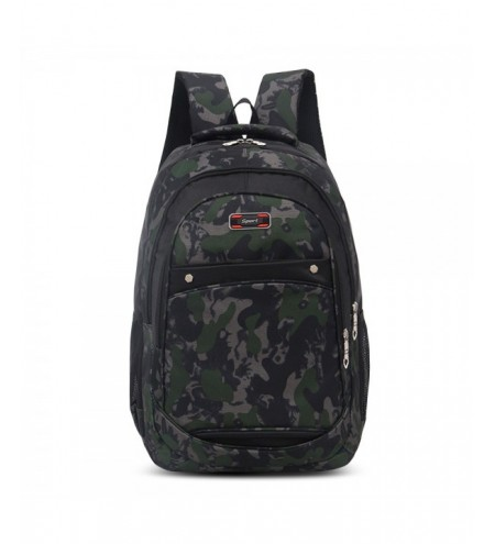 Camouflage Large Capacity Student Bag Outdoor Travel Men Backpack