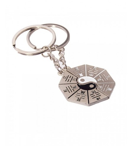 Hot-selling High-quality Metal Tai Chi Bagua Array Key Holder 2PCS