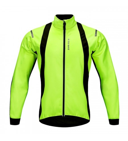 WOSAWE BC232 Outdoor Long Sleeve Zipper Design Cycling Jacket for Men