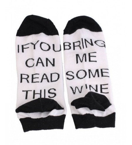 BRING ME SOME WINE Ankle Socks
