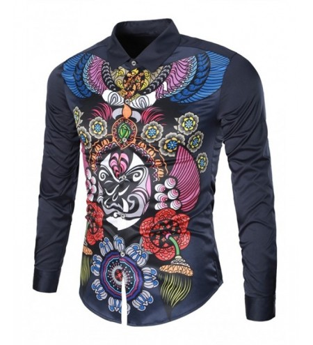 Peking Opera China Style Casual Shirt