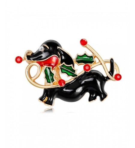 Fashion Creative Drop Oil Animal Brooch Alloy Water Drill Christmas Brooch Ornam