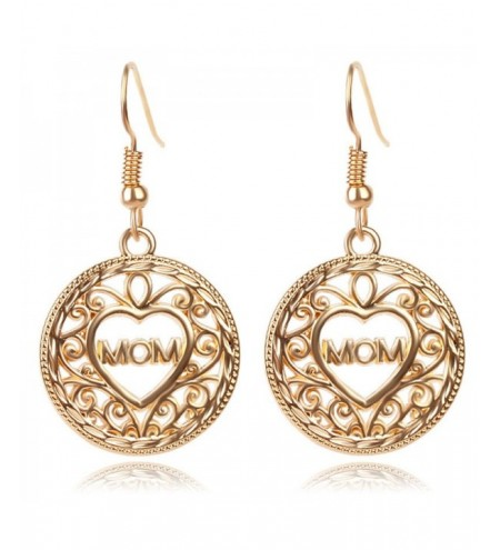 Ethnic Style Fashion Lady's Hollow Earrings