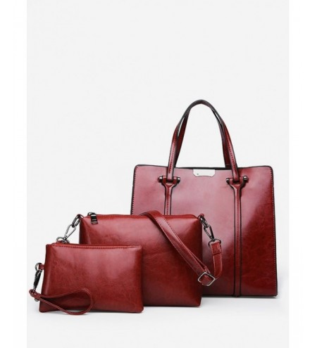 3 Pieces Chic Minimalist Tote Bag Set