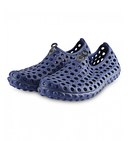 Outdoor Hole Design Ultra-light Male Slip On Sandals