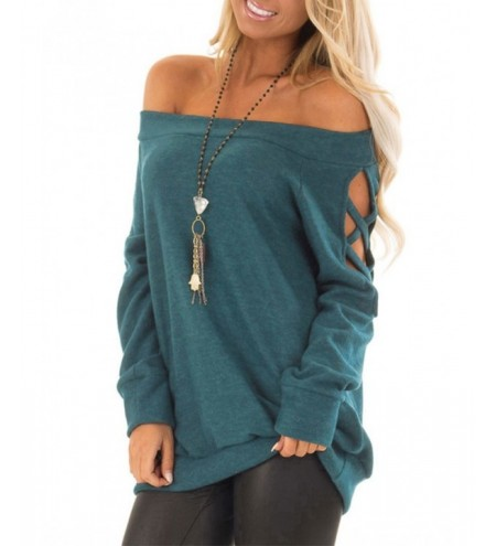 Criss Cross Off The Shoulder Top