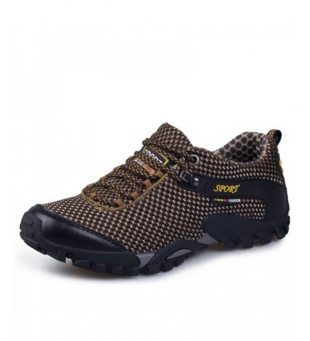 Men Lace-up Ventilated Sport Shoes