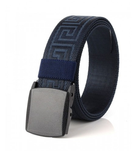 ENNIU Weaving Elastic Tactical Adjustable Durable Nylon Belt