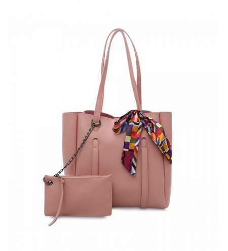 2pcs Casual Women Shoulder Tote PU Leather Composite Bag Female Handbag Clutch