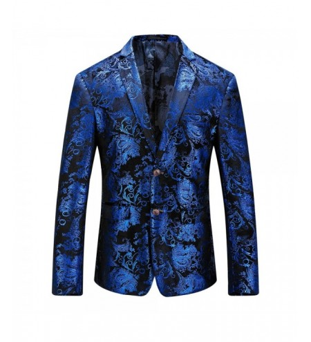 Floral Gilding Single Breasted Blazer