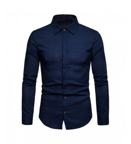 Solid Hem Curved Breathable Long Sleeve Shirt
