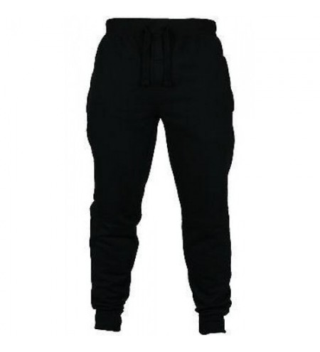 Men Slim Fit Bottoms Skinny Jogging Joggers Sweat Pants Trousers