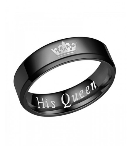 The New Her King His Queen Fashion Couple Ring