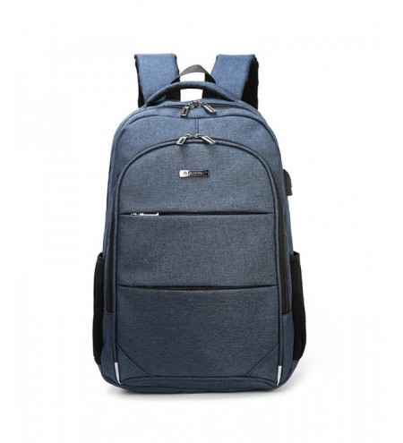 AUGUR Leisure Waterproof Travel Backpack with USB Charging Port