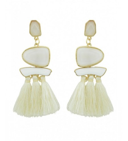 Long Tassels Tribal Geometric Exaggerated Earrings