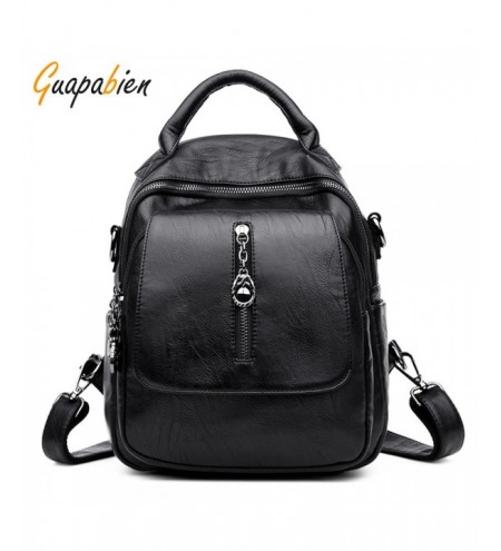 Guapabien Women Backpack Shoulder Crossbody Female Casual Travel Bag
