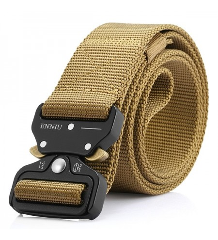 ENNIU Men Outdoor Training Belt with Buckle