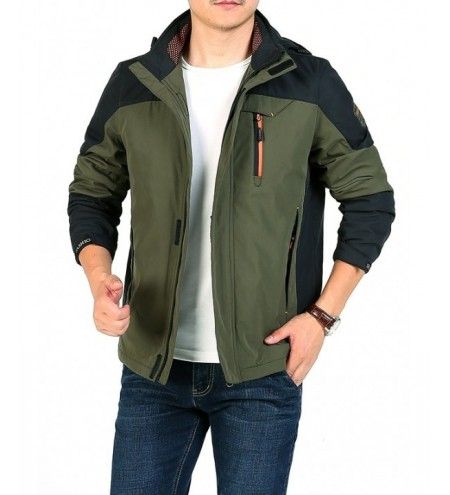 Men Jacket Outdoor Winter Waterproof Warm