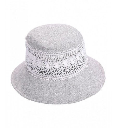 Vintage Hollow Out Lace Bucket Sun Hat